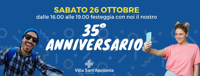 35° anniversario di Villa Sant'Apollonia